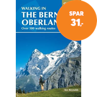 Produktbilde for Walking in the Bernese Oberland - Over 100 walking routes (BOK)