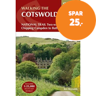 Produktbilde for The Cotswold Way - NATIONAL TRAIL Two-way trail guide - Chipping Campden to Bath (BOK)