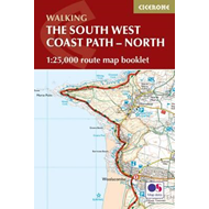 South West Coast Path Map Booklet - Vol 1: Minehead to St Iv (BOK)