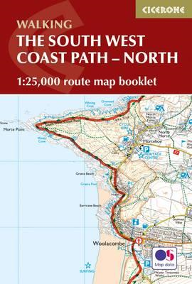 South West Coast Path Map Booklet - Minehead to St Ives (BOK)