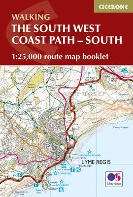South West Coast Path Map Booklet - Vol 2: St Ives to Plymou (BOK)