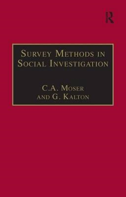 Survey Methods in Social Investigation (BOK)