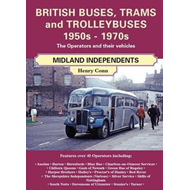 British Buses and Trolleybuses 1950s-1970s: Midland Independents (BOK)