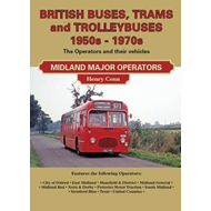 British Buses and Trolleybuses 1950s-1970s: Midland Major Operators (BOK)