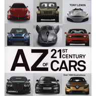 A-Z of 21st Century Cars (BOK)