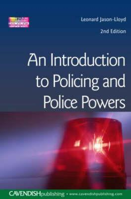Introduction to Policing and Police Powers (BOK)