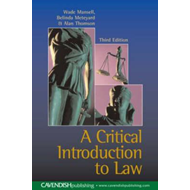 Critical Introduction to Law (BOK)