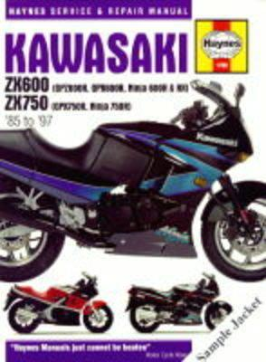 Kawasaki ZXR750 (Ninja ZX-7 and ZXR750) Fours Service and Re (BOK)