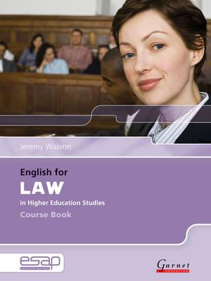 English for Law Course Book + Audio CDs (BOK)
