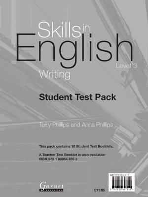 Skills in English - Writing Level 3 - Student Book (BOK)