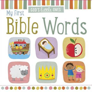 God's Little Ones: My First Bible Words (BOK)