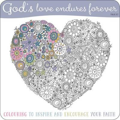 Adult Coloring Book: God's Love Endures Forever (BOK)