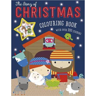 Story of Christmas Colouring Book (With Over 100 Stickers) (BOK)