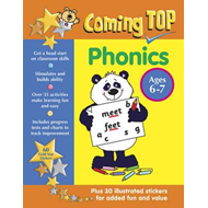 Coming Top: Phonics - Ages 6-7 (BOK)