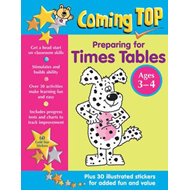 Coming Top: Preparing for Times Tables - Ages 3-4 (BOK)