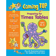 Coming Top: Preparing for Times Tables - Ages 4 - 5 (BOK)
