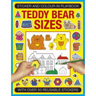 Sticker and Color-in Playbook: Teddy Bear Sizes (BOK)