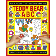 Sticker and Colour-in Playbook: Teddy Bear ABC (BOK)