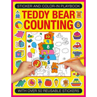 Sticker and Colour-in Playbook: Teddy Bear Counting (BOK)
