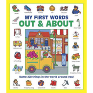 My First Words: Out & About (Giant Size) (BOK)