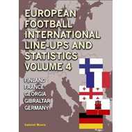 Produktbilde for European Football Line-Ups and Statistics (BOK)