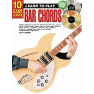10 Easy Lessons Bar Chords Bk/CD: Bar Chords Bk/CD/DVD (BOK)