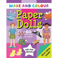 Make and Colour Paper Dolls (BOK)