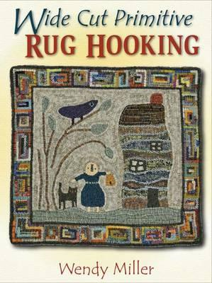 Wide Cut Primitive Rug Hooking (BOK)