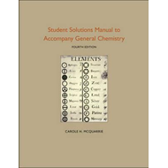 Student Solutions Manual to Accompany General Chemistry (BOK)