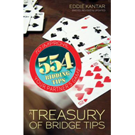 A Treasury of Bridge Tips: 554 Bidding Tips to Improve Your Partner's Game (BOK)