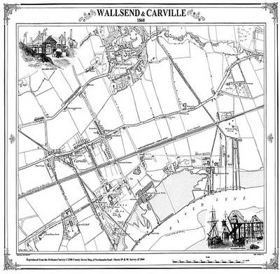 Wallsend 1860 Map (BOK)