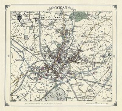 Wigan 1845 Map (BOK)