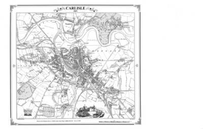Carlisle 1865 Map (BOK)