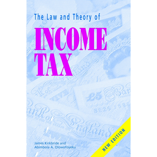 Law and Theory of Income Tax (BOK)