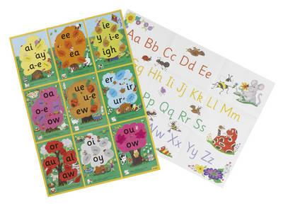 Jolly Phonics Alternative Spelling and Alphabet Posters (BOK)