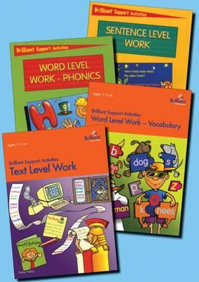 Brilliant Support Activities English Series Pack: 1 Copy of Each of Sentence Level Work; Text Level (BOK)