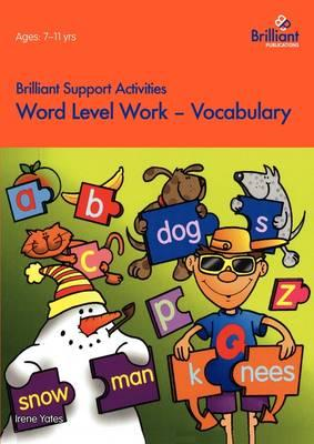Word Level Work - Vocabulary (BOK)