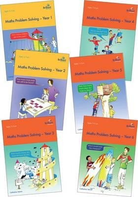 Maths Problem Solving Series Pack: Maths Problem Solving, Year 1, 2, 3, 4, 5, and 6 (BOK)