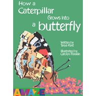 How A Caterpillar Grows Into A Butterfly (BOK)