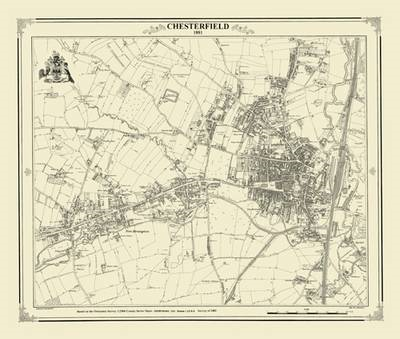 Chesterfield 1881 Map (BOK)