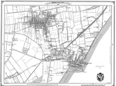 Bridlington 1850 Map (BOK)