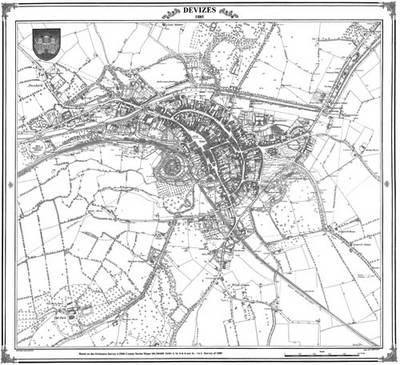 1885 Map of Devizes (BOK)