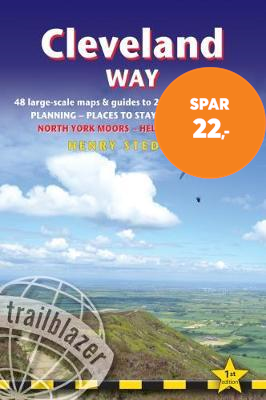 Cleveland Way (Trailblazer British Walking Guide) - 48 Large-Scale Walking Maps, Town Plans, Overvie (BOK)