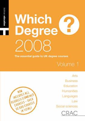 Students' Guide to UK Degree Courses (BOK)