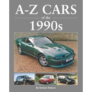 Produktbilde for A-Z Cars of the 1990's (BOK)