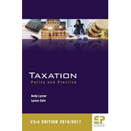 Taxation: Policy and Practice 2016/17 (BOK)