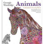 Animals: A Mindful Colouring Book (BOK)