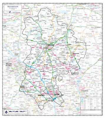 Bedfordshire County Planning Map (BOK)