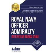 Produktbilde for Royal Navy Officer Admiralty Interview Board Workbook: How t (BOK)