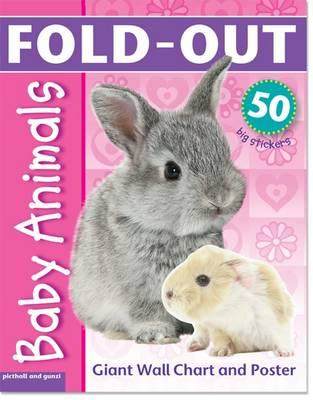 Fold-Out Baby Animals Sticker Book (BOK)